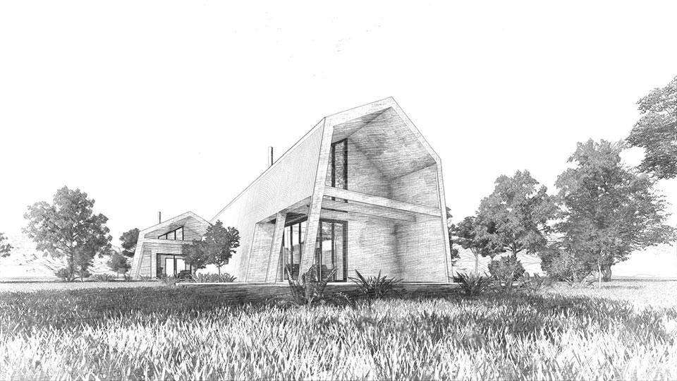 sketch jindabyne 3 house in nsw australia