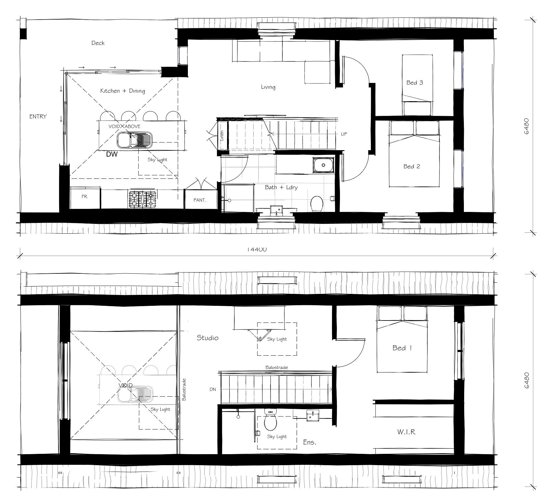 serendipity floorplans and design