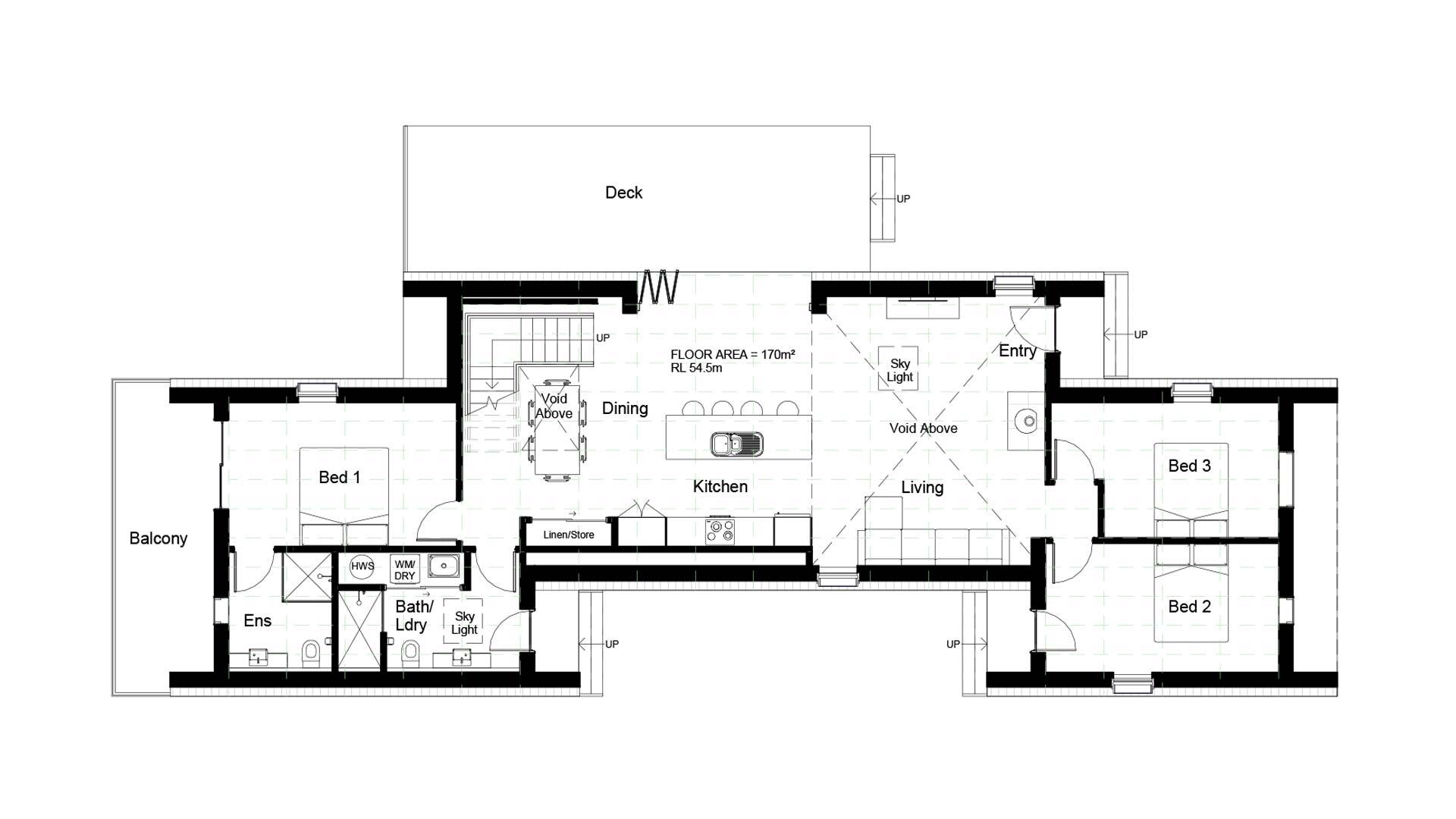 energy efficient home floorplan