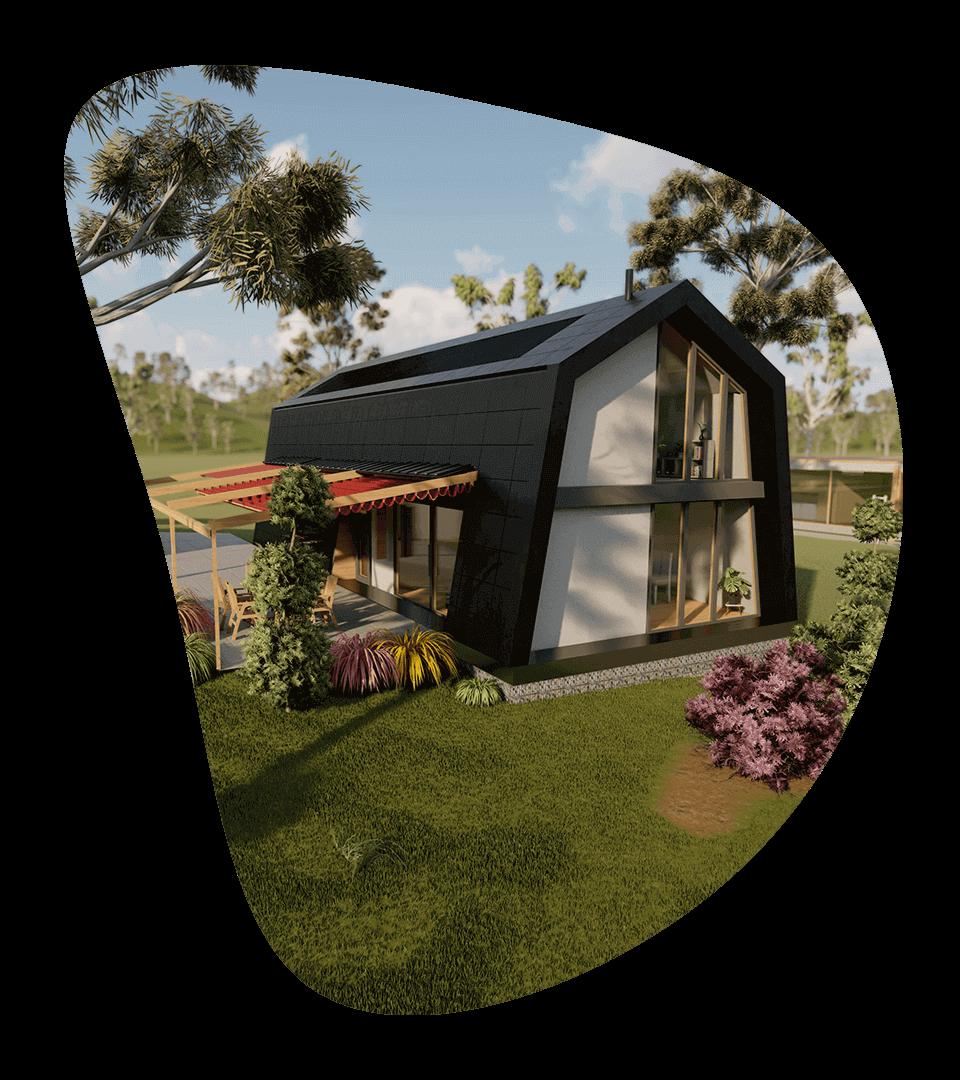 Marysville visualisation of the house